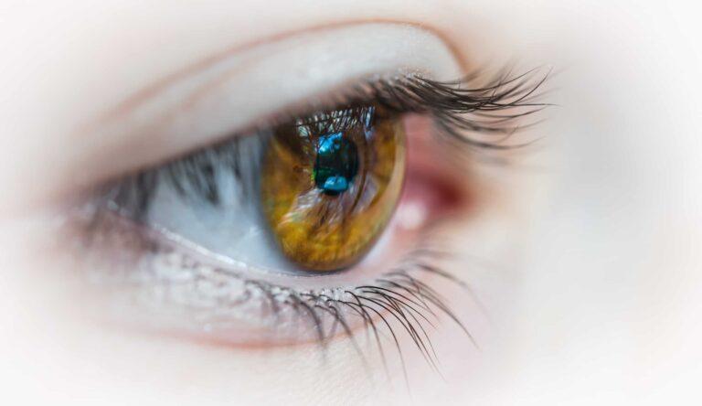 How safe is laser eye surgery? Brown Eye Image
