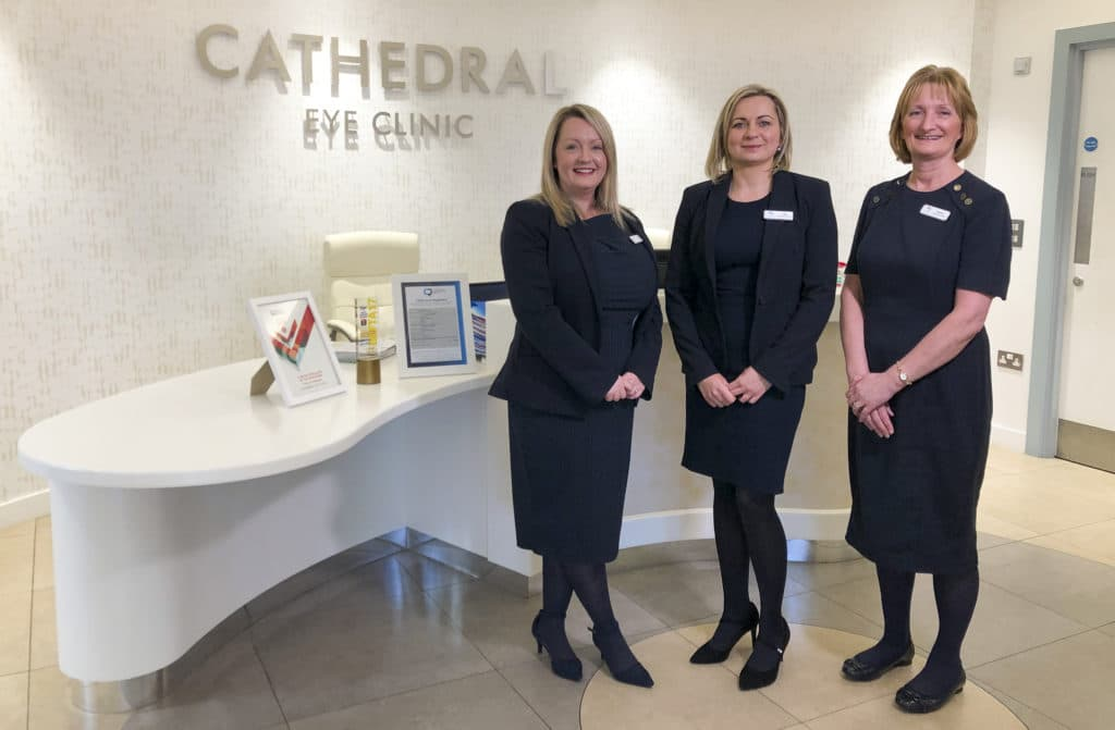 Cathedral Eye Clinic Reception Image