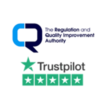 RQIA Trustpilot Approved Image Logos in Circle