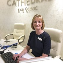 Cathedral Eye Clinic Staff in reception